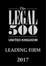 Legal 500 Leading Firm