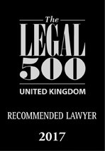 Cartherine is recommended in Legal 500